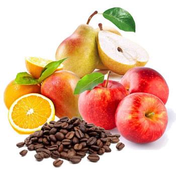 Kaulavaisiai, citrusiniai vaisiai, mango, kava, kakava